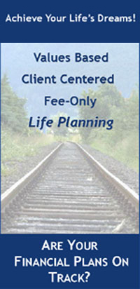 Fee Only Client Centered Financial Planning, Are your financial plans on track ?